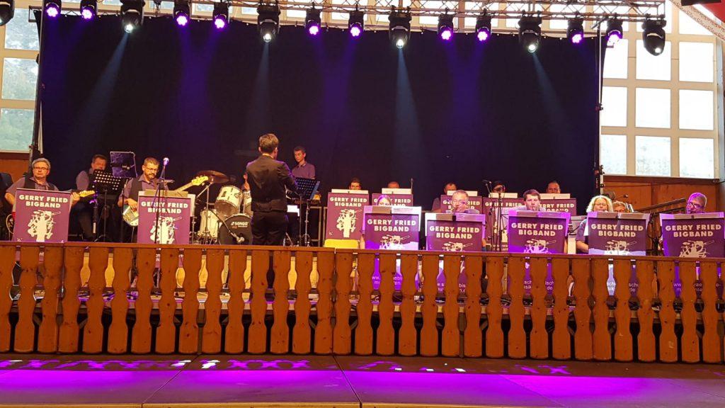 Gerry Fried Big-Band auf der Gersthofer Kirchweih 2019